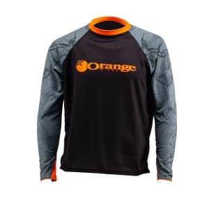 Maillot Orange Bikes Contour Trail Manches Longues  XS