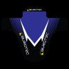 Garde Boue Burgtec Moto MudGuard Noir/Bleu