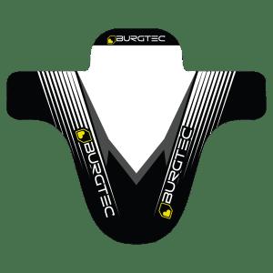 Garde Boue Burgtec Moto MudGuard Noir/Blanc