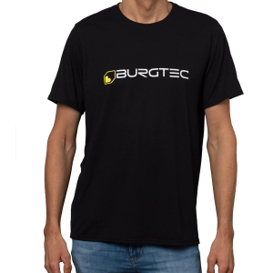T-Shirt Burgtec Logo Noir S