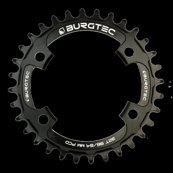 Couronne Burgtec 96/64 Thick Thin Argent Silver 30d