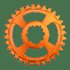 Couronne Burgtec GPX Boost 3mm Offset Thick Thin Orange 28d