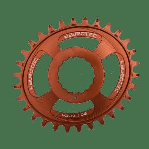 Couronne Burgtec CINCH (RaceFace) Boost Oval 3mm Offset Thick Thin Bronze 28d