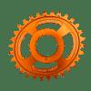 Couronne Burgtec CINCH (RaceFace) Boost Oval 3mm Offset Thick Thin Orange 28d