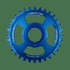 Couronne Burgtec Shimano Direct Mount Thick Thin Bleu 28d