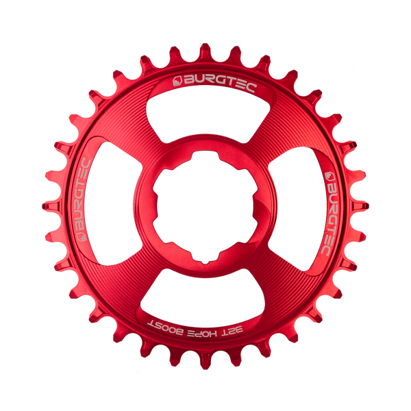 Couronne Burgtec Hope Direct Mount Thick Thin Rouge 28d