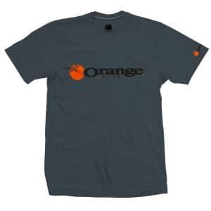 T-Shirt Orange Bikes Noir Charbon Corporate  S/M