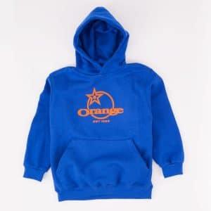 Pull Over à Capuche Orange Bikes Enfant Bleu / Orange  S (3-4 ans)