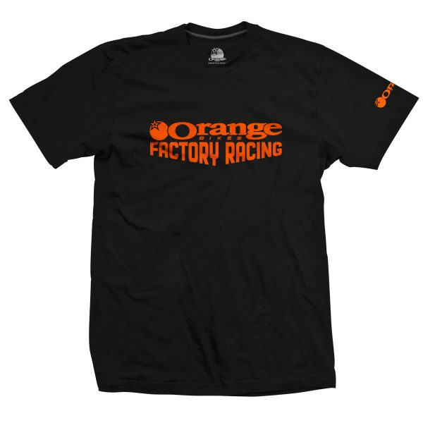 T-Shirt Orange Bikes Factory Racing Edition Limitée  S/M