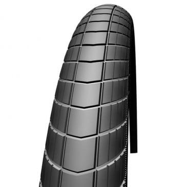PNEU VTT 29 X 2.35 SCHWALBE BIG APPLE NOIR TR (60-622) COMPATIBLE 28 X 2.35 RENFORT  RACEGUARD