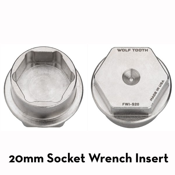 Pack Wrench Steel Hex Inserts – Wolf Tooth Components