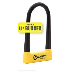 auvray-antivol-u-rubber-280-cm-avec-support