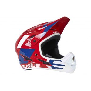 casque-evolve-storm-glossy-red