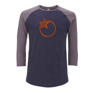T-Shirt Orange Bikes Froot Gris / Bleu  S/M