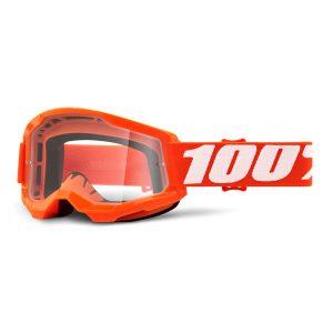 masque-100-pourcent-strata2-orange-clear-lens