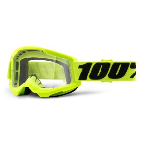 masque-100-pourcent-strata2-yellow-clear-lens