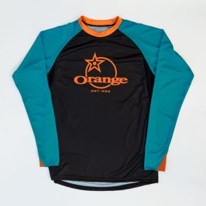 Maillot Orange Bikes Pennine Manches Courtes  XS