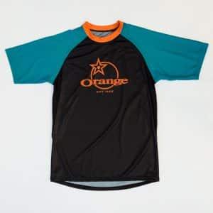 Maillot Orange Bikes Pennine Manches Longues  XS