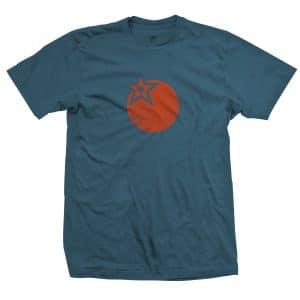 T-Shirt Orange Bikes Heart of Orange Stargazer  S/M